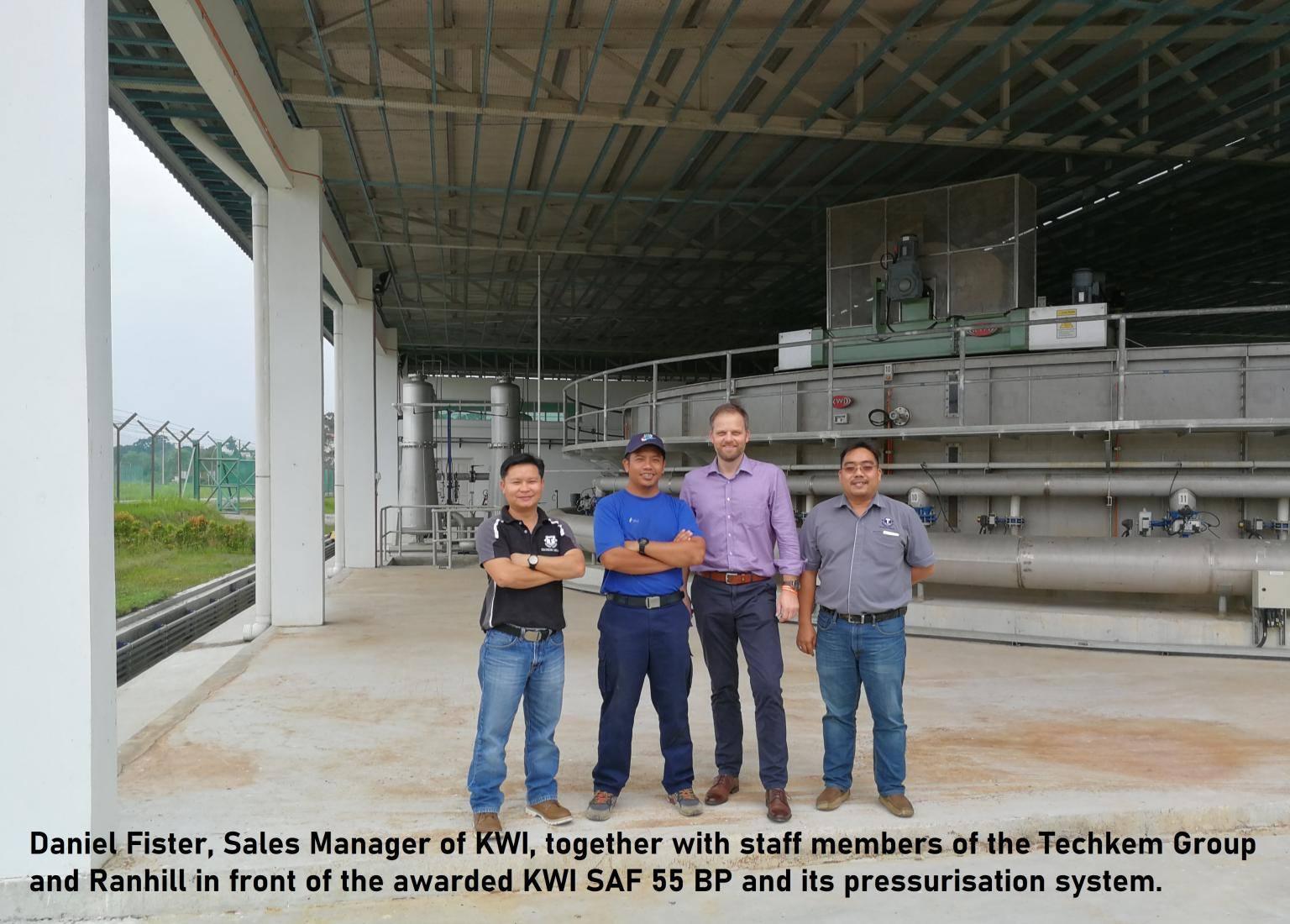 Công nghệ xử lý nước sạch Sandfloat SAF 55 BP